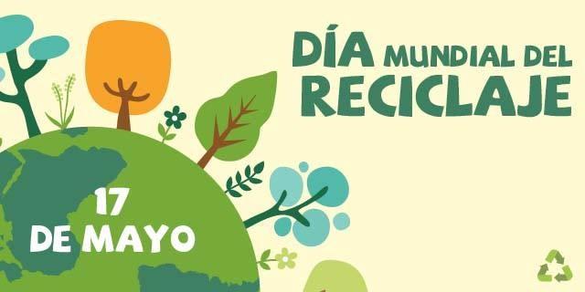 DIA MUNDIAL DEL RECICLAJE 2019 - Vasito y Macetilla
